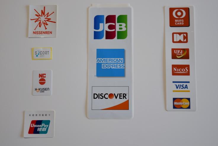 各種クレジットカードもお使いいただけます。