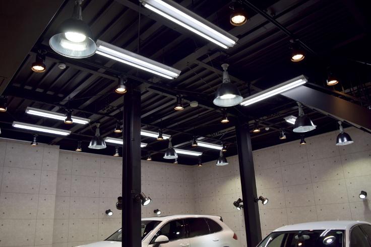 店内LED